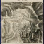 Los primeros mapas modernos de Jerusalén subastados