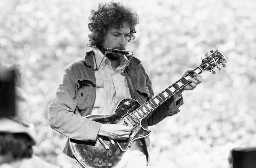 SAN FRANCISCO, CA - MARCH 23, 1975:  Singer/Songwriter Bob Dylan performs at Kezar Stadium in San Francisco, California, March 23, 1975.  (Photo by Alvan Meyerowitz/Michael Ochs Archives/Getty Images)