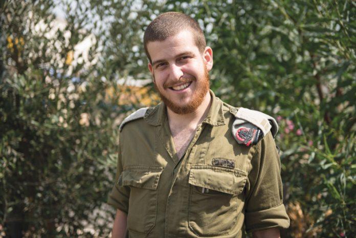 Tte. Nahum Bar Cohen, Oficial de Operaciones de Ingeniería del Comando Norte