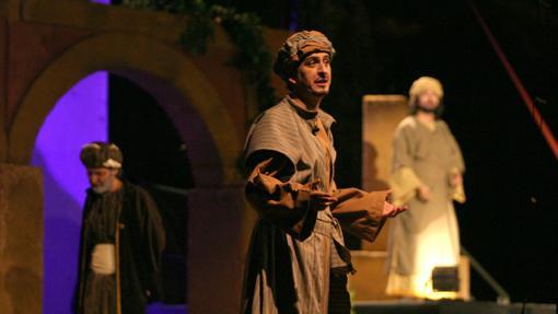 Representación en el Alcázar sobre la vid de Maimónides- ARCHIVO