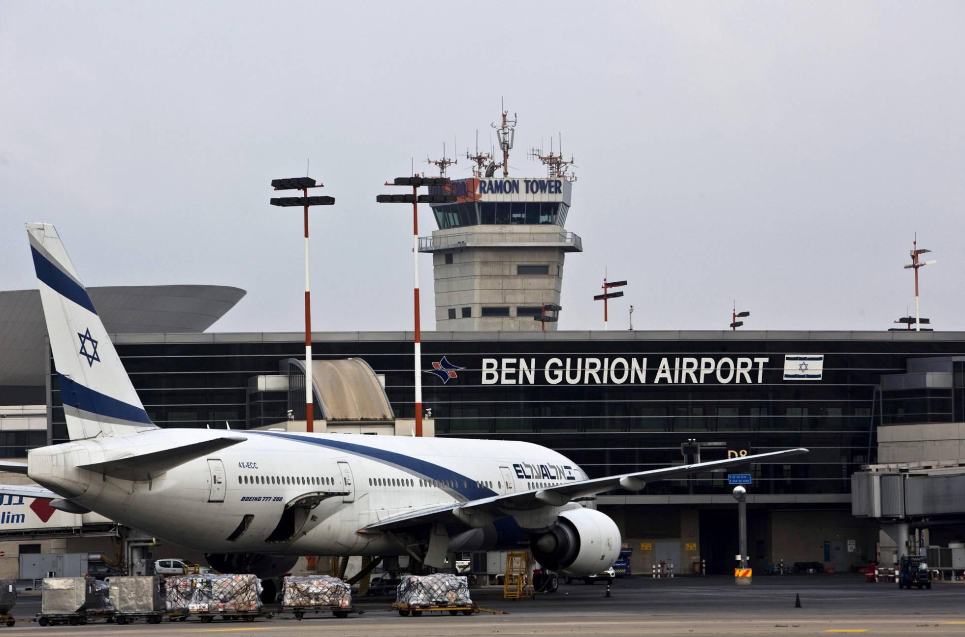 Un avión de El Al en el aeropuerto Ben Gurion, en Israel NIR ELIAS REUTERS