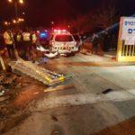 Tres israelíes heridos en un ataque vehicular en Biniamín, la terrorista fue detenida