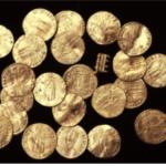 Encuentran pecio cruzado y monedas de oro en la bahía de Acre