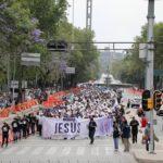 Miles de mexicanos marchan para bendecir a Israel