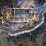 Arqueólogos restauran antiguo templo romano en el puerto de Israel