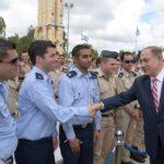 Israel inaugura el sistema antimisiles Honda de David