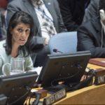 El Consejo de Seguridad no abordará el conflicto israelí-palestino bajo la presidencia de EEUU