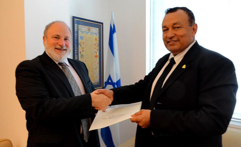 Honduras Presenta Credenciales En Israel Unidos X Israel