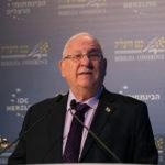 Rivlin clausura Herzliya defendiendo valores judíos y democráticos de Israel