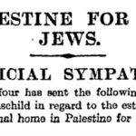 La Declaración Balfour está sobrevalorada