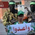 Lema de los campamentos de verano de Hamas de este año: Marchen sobre Jerusalén; su meta es: entrenar a la generación que liberará Palestina y Jerusalén