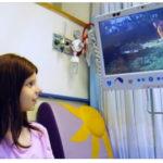 Hospital de Israel le brinda la alegría de la naturaleza a los niños enfermos