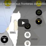 Israel debe mantener sus fronteras defendibles