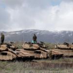 Tanques israelíes respondieron al lanzamiento de un cohete por parte del grupo terrorista Hamas desde la Franja de Gaza