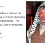«Queremos guerra»: el repudiable mensaje que publicó en Twitter una misión diplomática palestina y luego borró