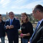 Israel recibe a su turista 3.000.000 del año y Netanyahu los guió por la Ciudad Vieja