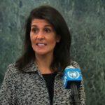 Nikki Haley aseguró que buscará llegar a la paz a pesar de Abbas