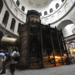 Visitantes cristianos de todo el mundo aguardan en Jerusalén el inicio de Semana Santa