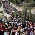 La emotiva celebración del Domingo de Ramos en Jerusalén