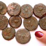 Hallan monedas de la época del Segundo Templo en Jerusalén