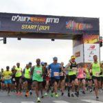 Más de 35 mil personas corren en la Maratón de Jerusalem