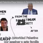 ¿Por qué la Autoridad Palestina paga salarios a terroristas que asesinan a israelíes?