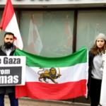 En muestra de apoyo, decenas de miles de usuarios iraníes le dicen a Twitter: #WeStandWithIsrael