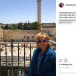 La impresionante escapada de Mila Ximénez a Israel