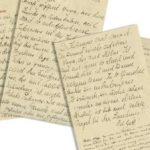 Una carta de Einstein y su esposa asediados por los nazis alcanza los 30.250 dólares