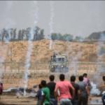Las protestas del Día de Naksa comienzan en la frontera de Gaza