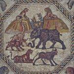 Desenterrado en Israel un espectacular mosaico romano