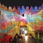 Jerusalén iluminada en un mágico festival de luz