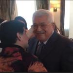 """Soy palestino"", Maradona le dice al presidente Abbas"