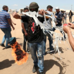 El Ejército de Israel respondió un nuevo ataque incendiario perpetrado desde Gaza