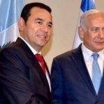 Netanyahu se reúne con Al Sisi y Jimmy Morales en Nueva York