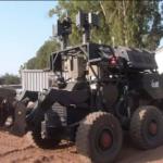Israel desarrolla un robot autónomo para detectar y neutralizar los explosivos
