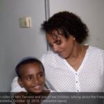 """Mamá describe la carrera """"milagrosa"""" para refugiarse segundos antes de que el cohete arrasara el hogar"""