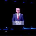 Dos años después de su muerte: Shimon Peres inaugura su nuevo centro para la Paz y la Innovación – en un holograma