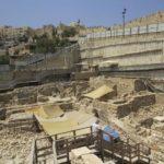 Tras los pasos de la Biblia en un párking de la Ciudad Vieja de Jerusalén