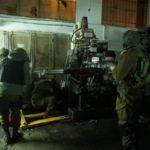 Soldados israelíes descubren una fábrica de armas en Cisjordania