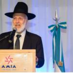 Israel condena el ataque contra el gran rabino argentino Gabriel Davidovich