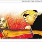 La caricatura del New York Times no salió de la nada