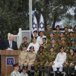 Rivlin dirige la ceremonia del Día de la Independencia honrando a Soldados Destacados