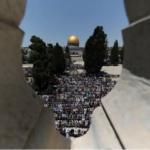 La policía de máxima alerta en la ciudad vieja de Jerusalén el primer viernes de Ramadán