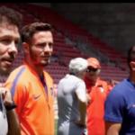 El Atlético visitó su 'cantera' en Israel