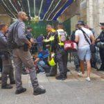 Policía herido con puñal durante ataque terrorista en Jerusalén
