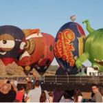 Mira: Festival de globos aerostáticos en el norte de Israel