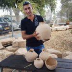 Un electricista encontró objetos de 4.500 años de antigüedad