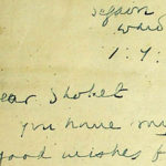 Revelan carta de Gandhi deseando «era de paz» a los judíos