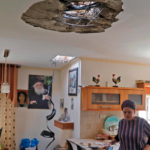 'Fue como si un volcán hubiera hecho erupción en mi casa'